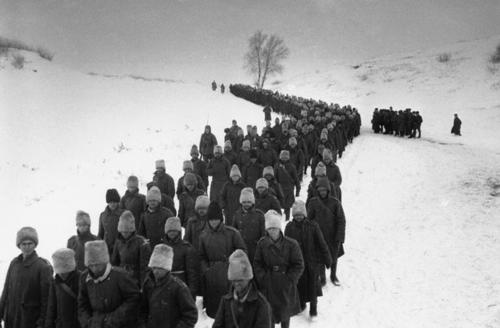 Romanian POWs - Battle of Stalingrad