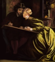 15 frederick leighton - the painters honeymoon