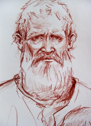 imagined portrait of Constantin Brancoveanu - Romanian martyr prince