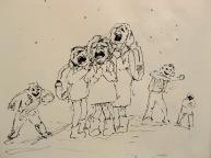 winter is a surviving game for school girls V_V