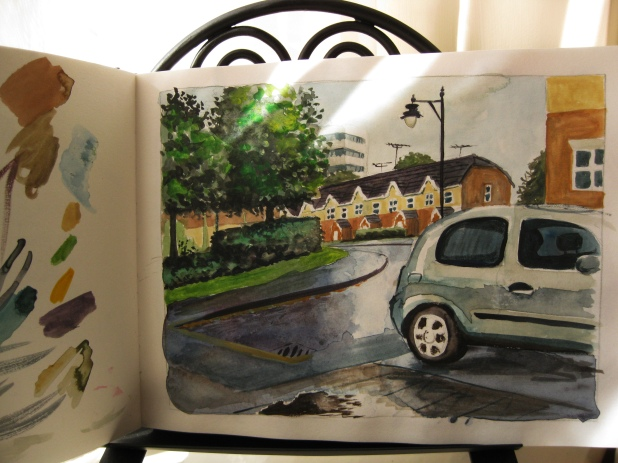 plein-air watercolor 3