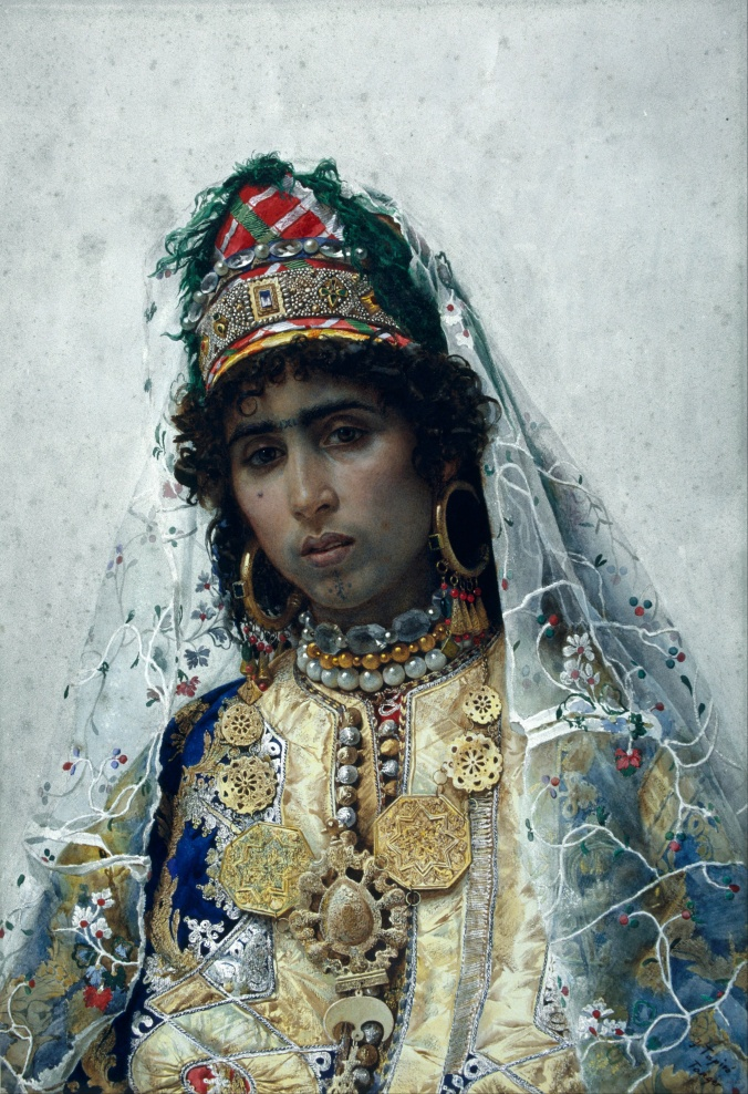 Josep_Tapiró_-_Berber_Bride_-_Google_Art_Project