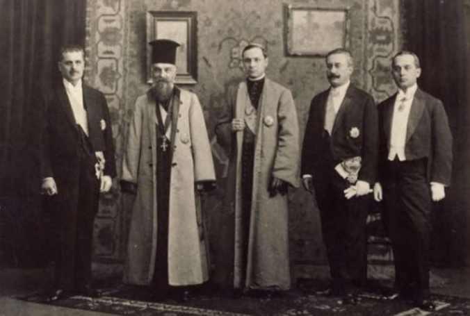 Delegatie_Transilvania_act_Unire_Ferdinand_1918