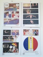 """1976: """"Nadia Comăneci obține prima notă de 10 din istoria Jocurilor Olimpice"""" - Pitica Izabela"""